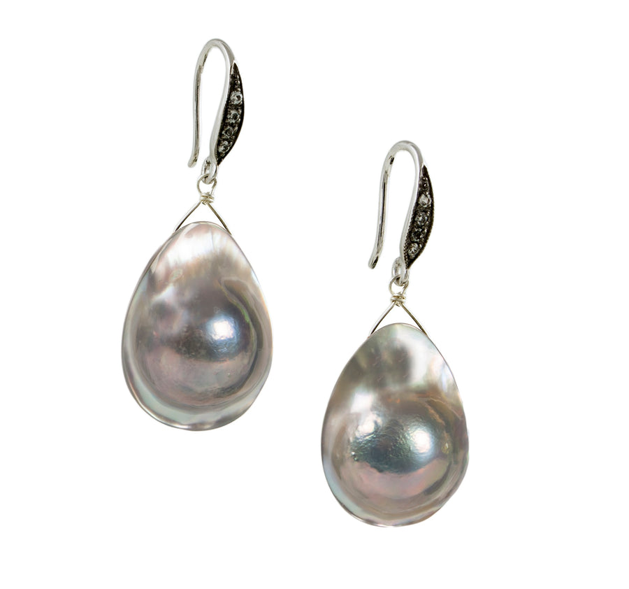 mabe pearl earring