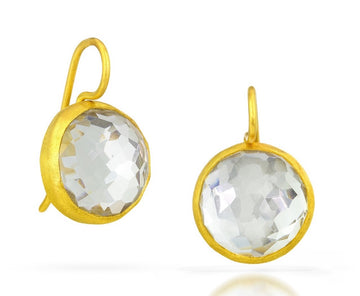 Circle Cocktail Earrings
