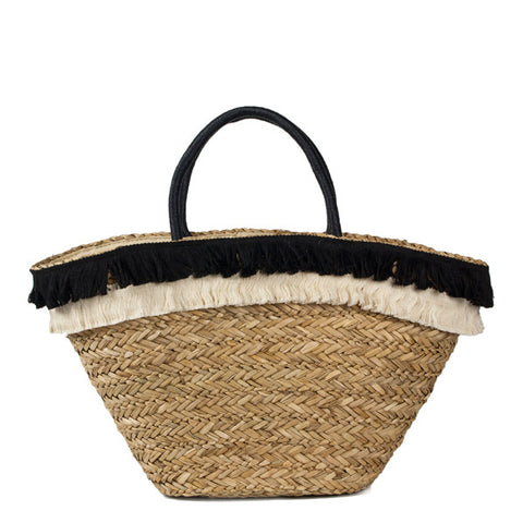 Seagrass Fringed Totes