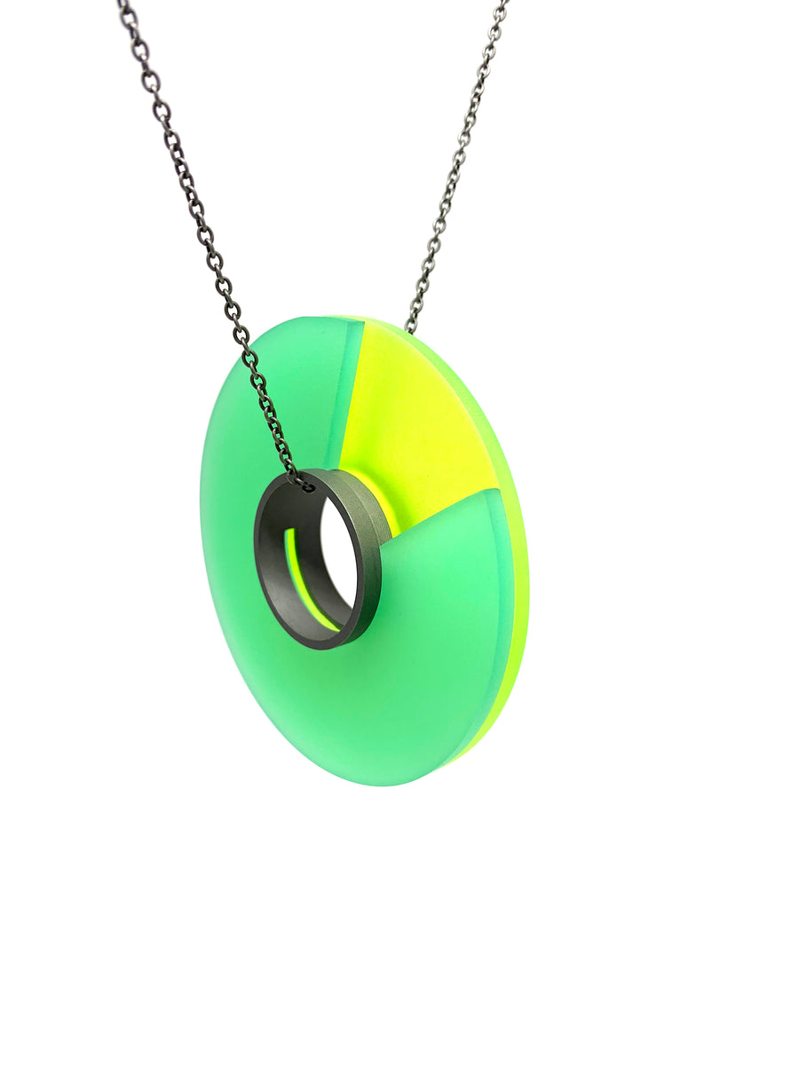 Round Color Necklace