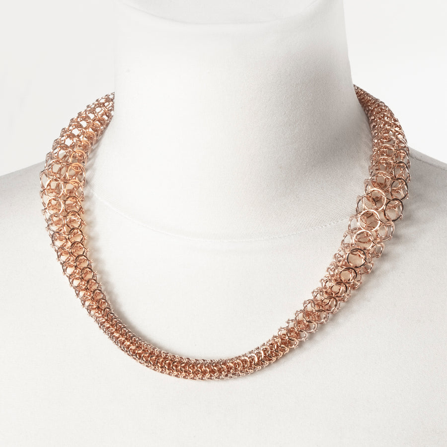 Imrie Necklace-Rose Gold