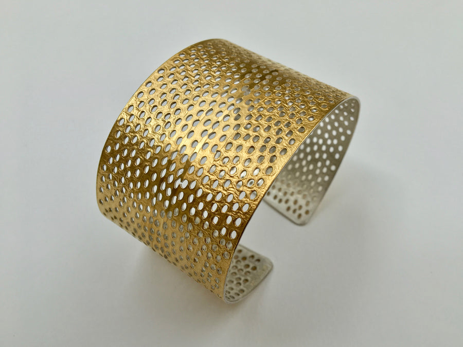 Oval Cuff with Holes