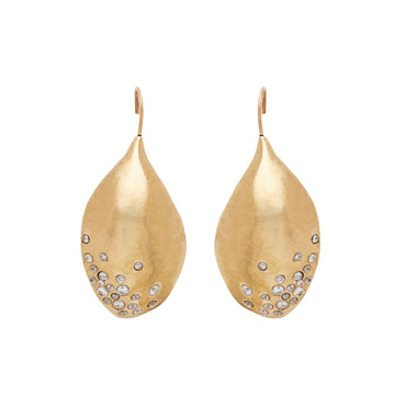 Petal Bronze Earrings