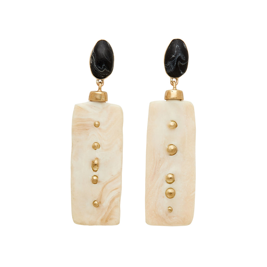 Monolith Clay Earrings