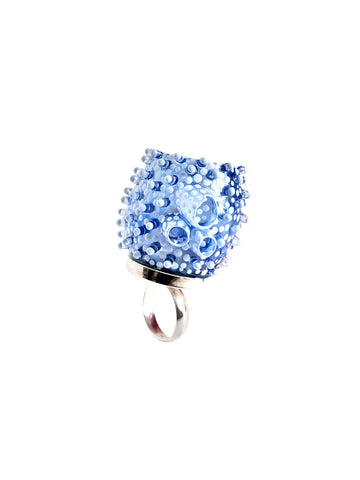 Periwinkle Sea Cucumber Ring