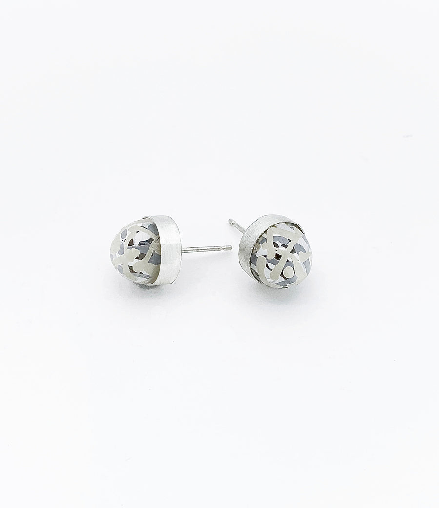 Single Dome Earrings