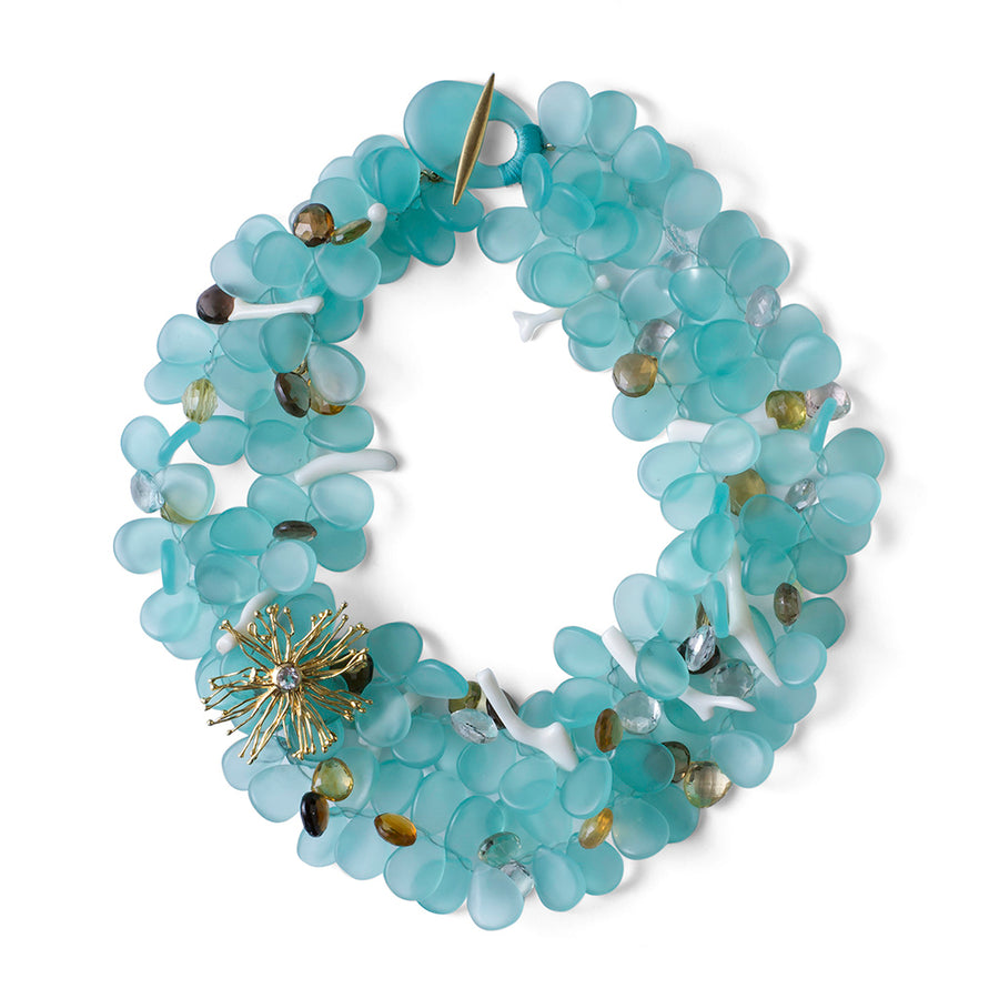 2-Strand Wish Petal Necklace