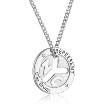 NYC Represent Token Necklace - The Bronx