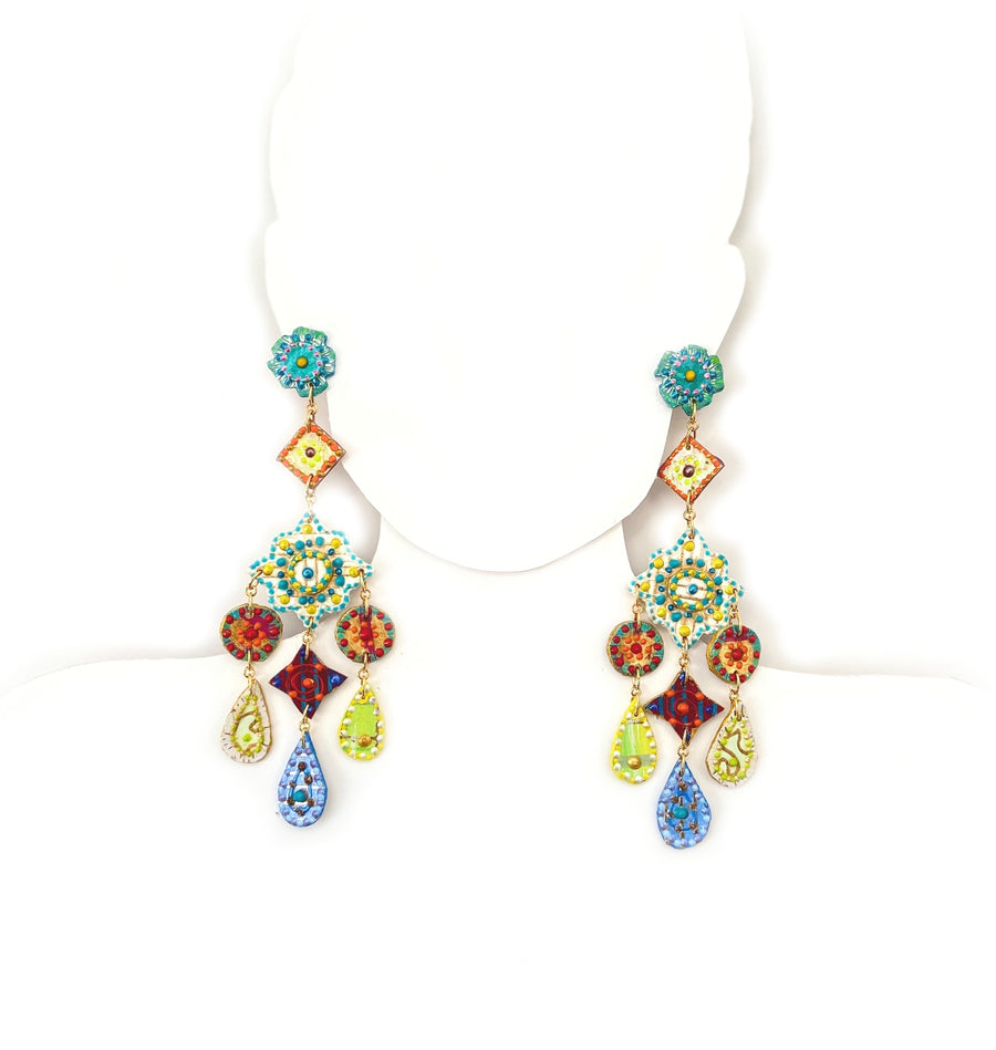 Summer Bright Drop Earrings