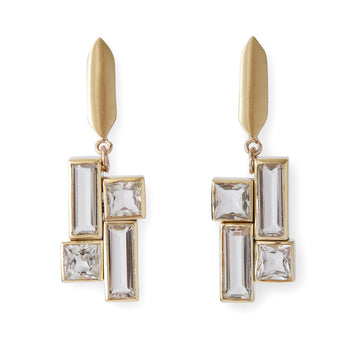 Mondrian Tableau Earrings