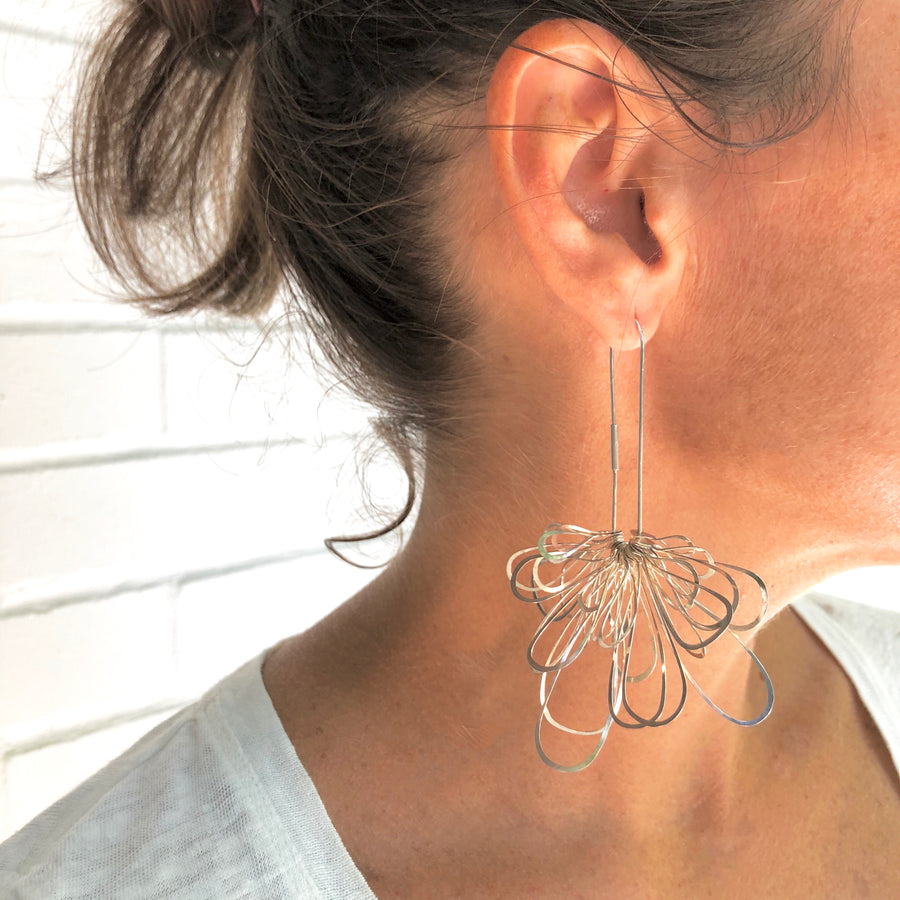 Explosion Earrings- Clasp Back