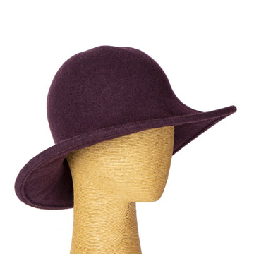 Merino Wool Knitted Floppy hat