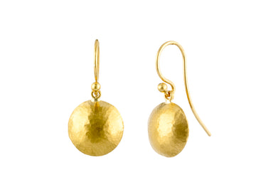 Spell Gold Drop Earrings