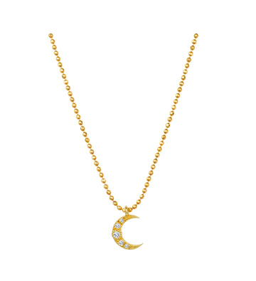 Luna Pave Necklace