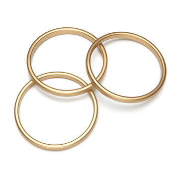 Twiggy Gold Bangle Set
