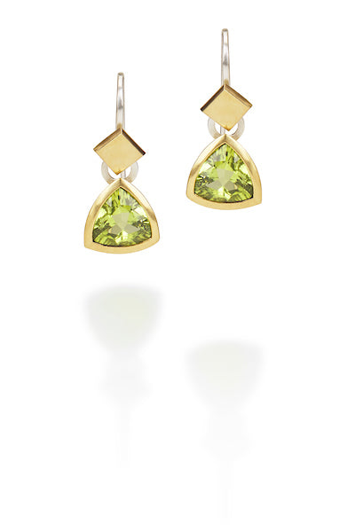 Peridot Sway Earrings