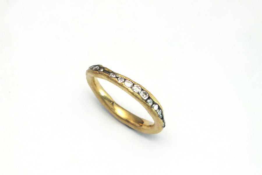 Wavy Eternity Ring