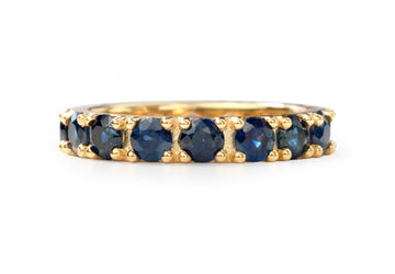 Ritha Eternity Blue Sapphires