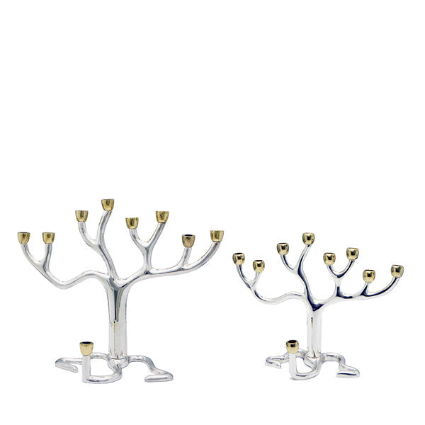 Tree of Life Menorah - Medium