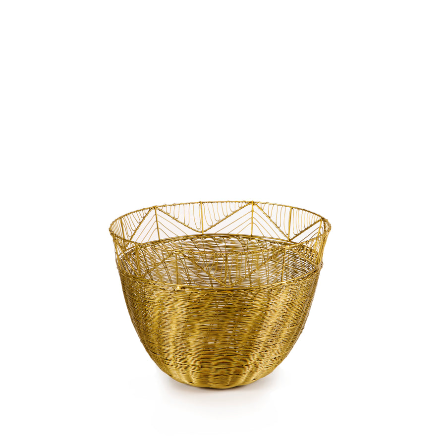 Small Tribal Woven Bowl