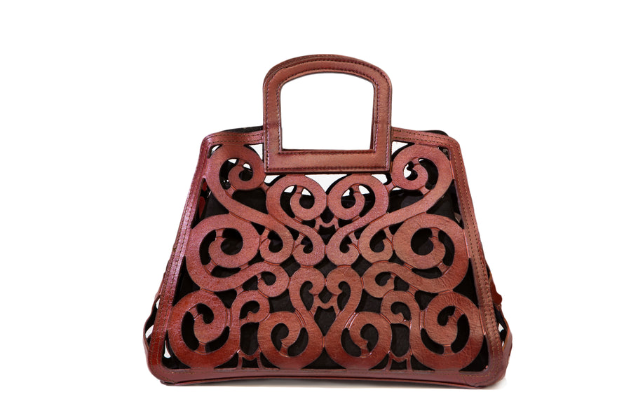 Filigree Leather Bags