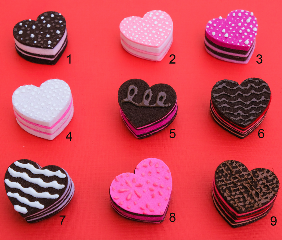 Chocolate Brooches