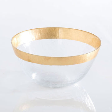 Medium Gold Rim Bowl