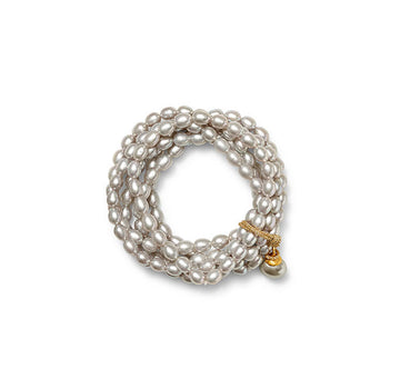Silver Grey Sally Bracelet