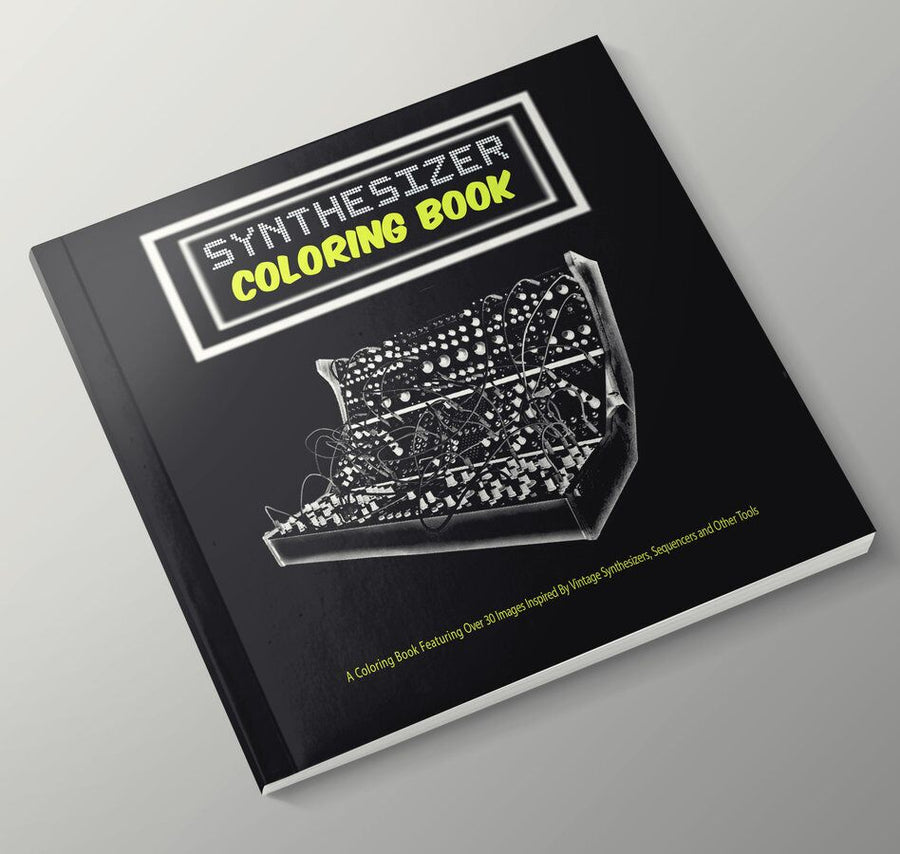 Synthesizer Coloring Book