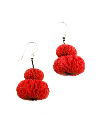 Oursin Earrings