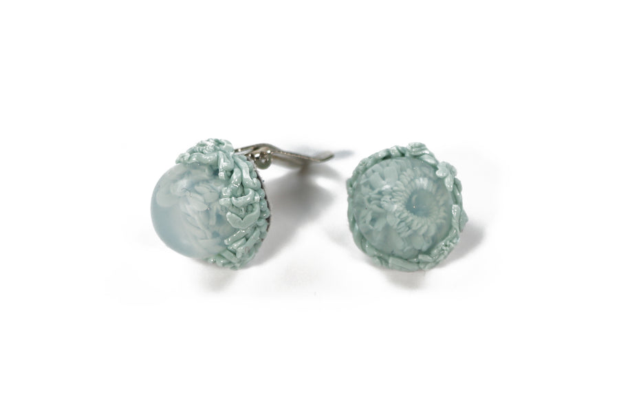 Ocean Clip Earrings