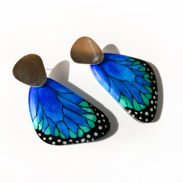 Pendant Wing Earrings