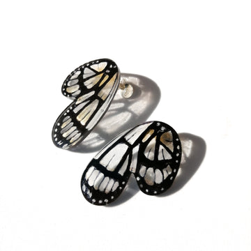 Half Butterfly Metona Grandiosa Earrings