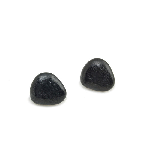 Coal Stone Earrings
