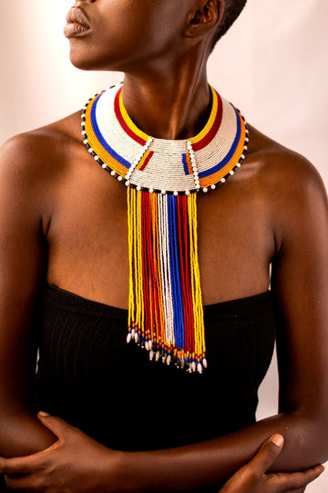 ZAWADI DROP NECKLACE