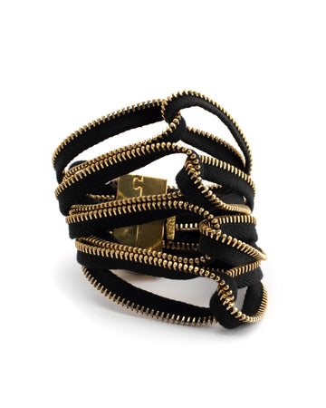 Interlocking Zipper Bracelet