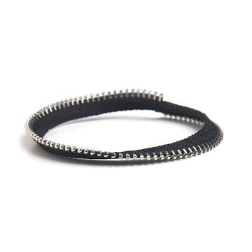 Single Mobius Bangle Zipper Bracelet