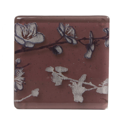 Glass Coaster Set - Cherry Blossom