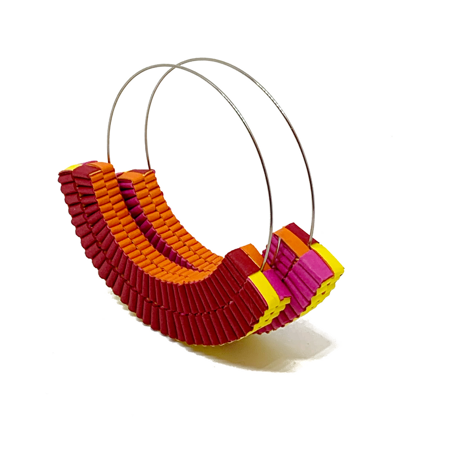 Quattro Colori Hoop Earrings
