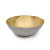 Crackle Edge Gold Paper Bowl - 13""