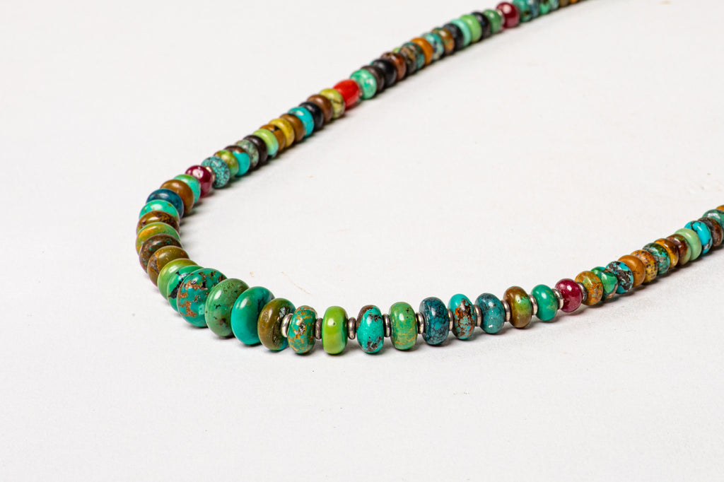 Turquoise necklace with Turquoise center