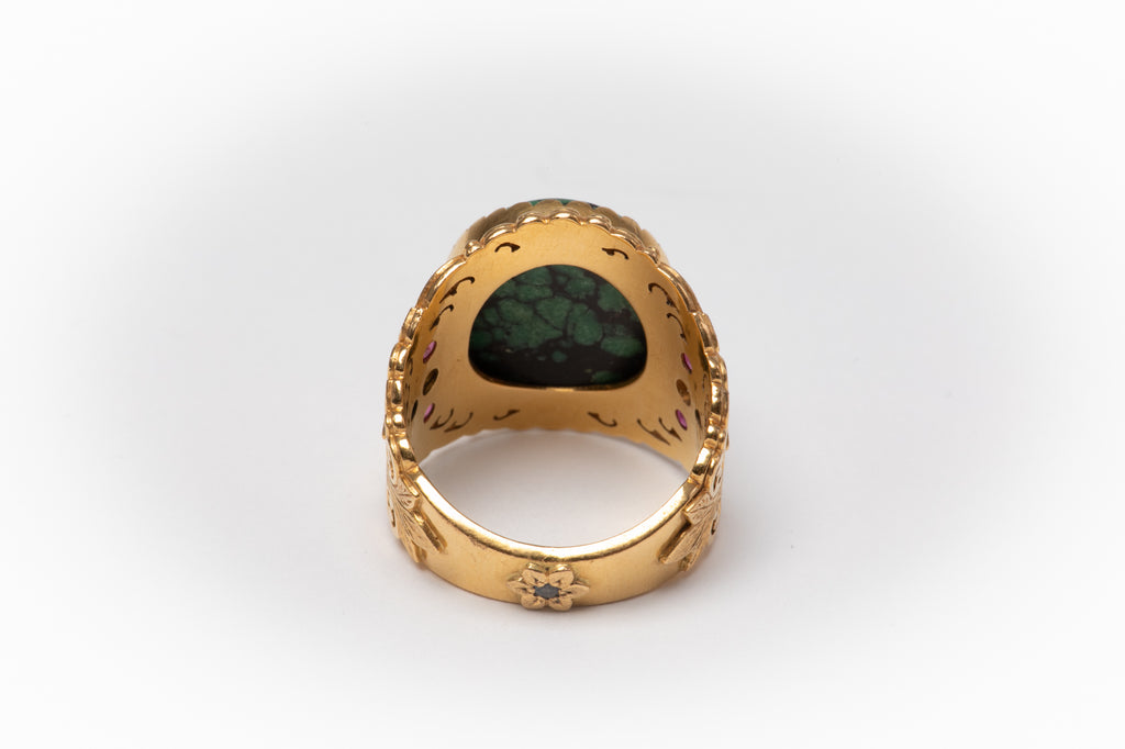 [SOLD] 22k gold ring with Turquoise stone [SOLD]