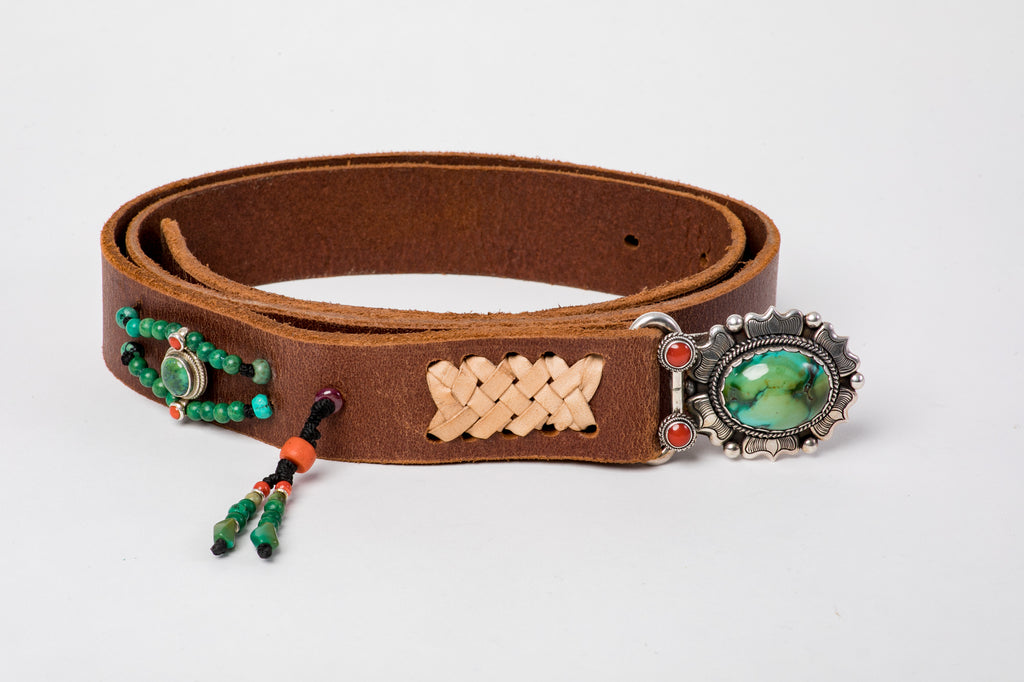 Handmade Belt With Gemstones