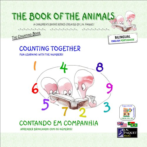 The Book of The Animals - Counting Together (Bilingual English-Portuguese)