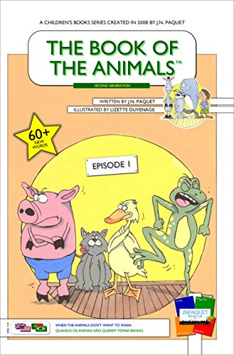 The Book of The Animals - Episode 1 (English-Portuguese) [Second Generation]: When the animals don't want to wash.