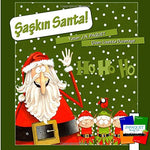 Silly Santa! (Turkish Edition)