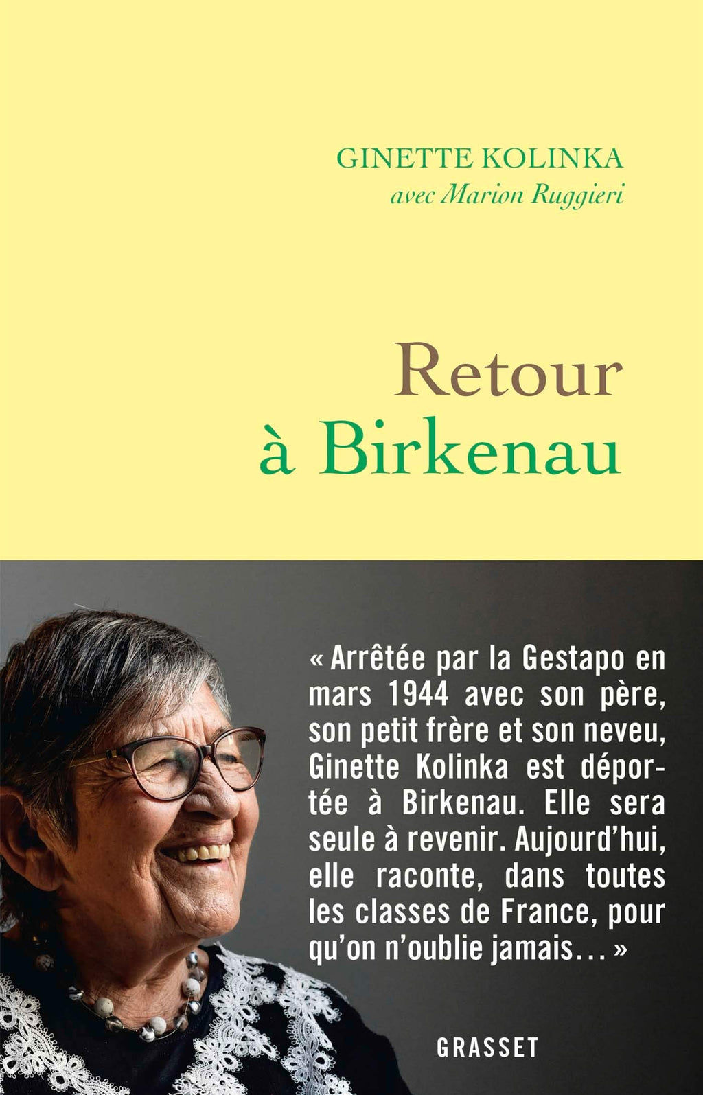 Retour à Birkenau (French Edition)