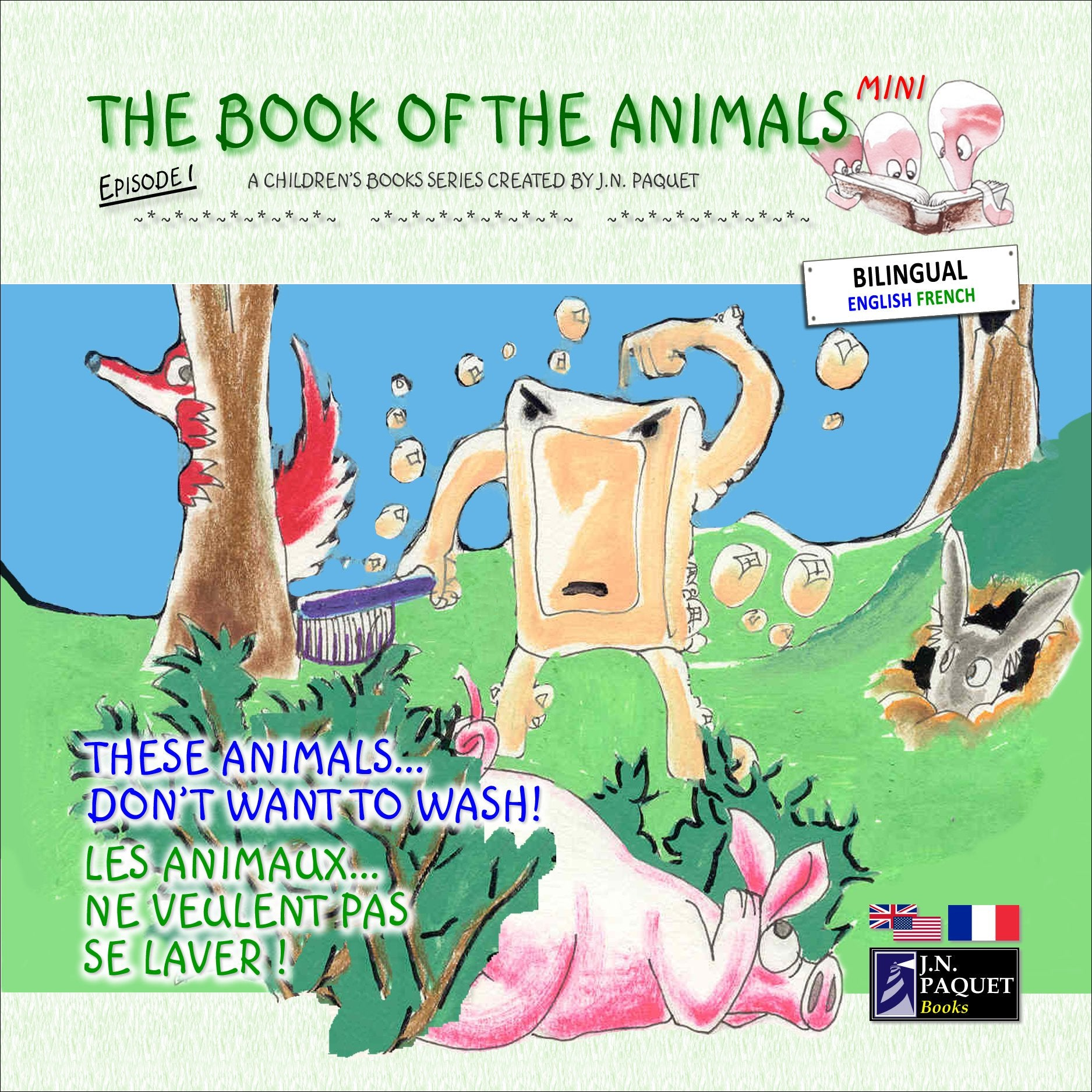 The Book of The Animals - Mini - Episode 1 (Bilingual English-French)