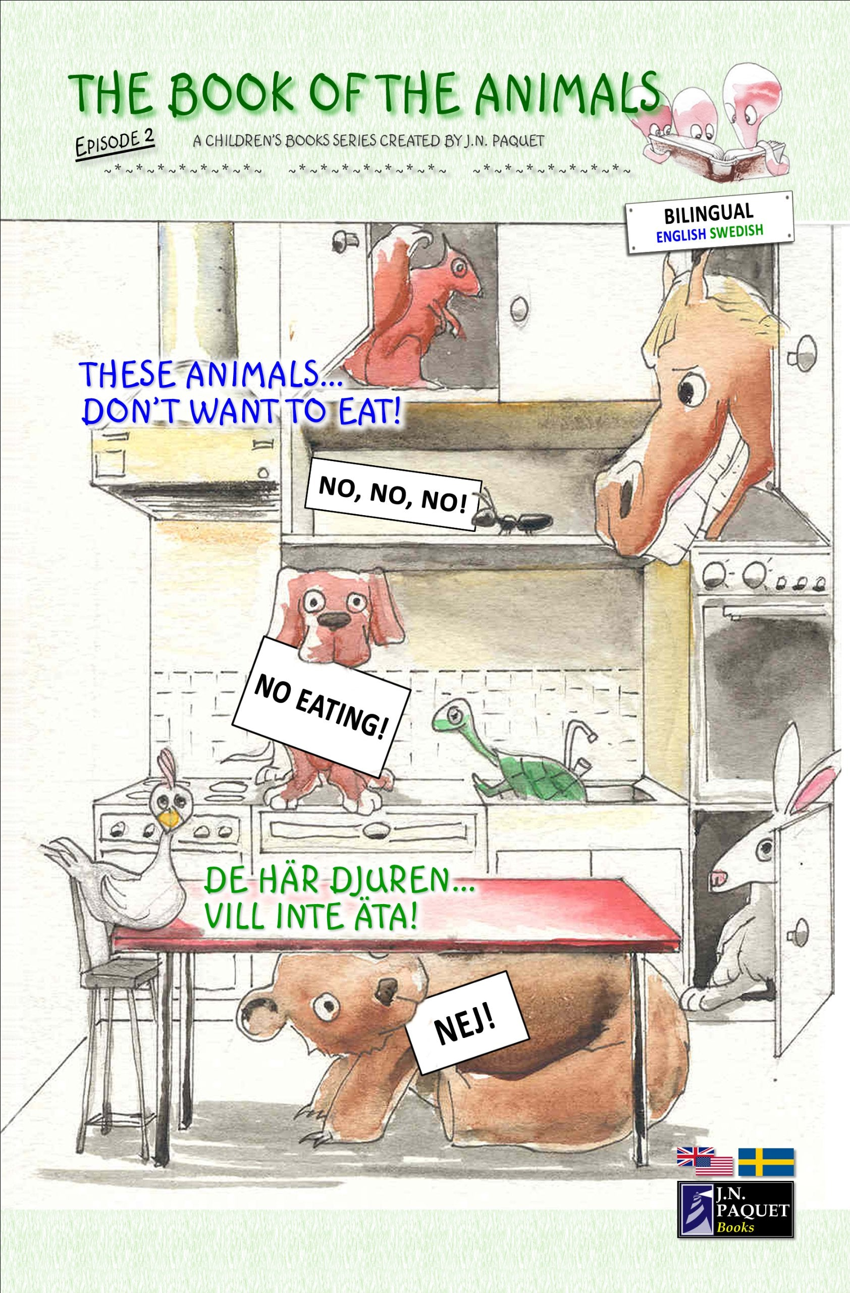 The Book of The Animals - Episode 2 (Bilingual English-Swedish)