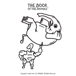 The Book of The Animals - Colouring Together [Volume 1]